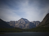 Jagged Peaks of Glacier National Park Offer a Beautiful Vista Photographic Print by Michael Hanson
