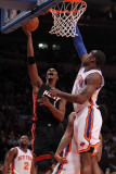 Miami Heat v New York Knicks: Chris Bosch Photographic Print by Al Bello