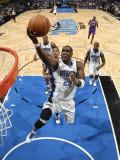 Phoenix Suns v Orlando Magic: Mickael Pietrus Fotografisk tryk af Fernando Medina