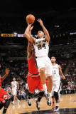 Chicago Bulls v San Antonio Spurs: Richard Jefferson Photographic Print by D. Clarke Evans