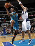 New Orleans Hornets v Dallas Mavericks: Chris Paul and Jason Kidd Photographic Print by Layne Murdoch