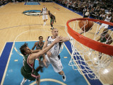 Milwaukee Bucks v Dallas Mavericks: Jason Kidd and Andrew Bogut Photographic Print by Glenn James