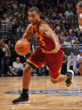 Cleveland Cavaliers  v Orlando Magic: Ramon Sessions Photographic Print by Fernando Medina