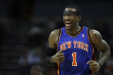 New York Knicks v Charlotte Bobcats: Amare Stoudemire Photographic Print by Streeter Lecka