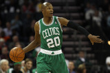 Boston Celtics v Charlotte Bobcats: Ray Allen Photographic Print by Streeter