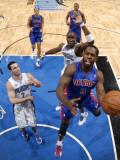 Detroit Pistons v Orlando Magic: Rodney Stuckey Photographic Print by Fernando Medina