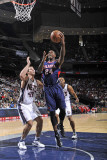 Atlanta Hawks v New Jersey Nets: Marvin Williams and Kris Humphries Photographic Print by David Dow