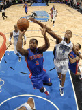 Detroit Pistons v Orlando Magic: Rodney Stuckey and Rashard Lewis Photographic Print by Fernando Medina