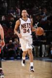 Atlanta Hawks v New Jersey Nets: Devin Harris Photographic Print by David Dow