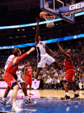 Philadelphia 76ers v Orlando Magic: Brandon Bass Photographic Print by Sam Greenwood