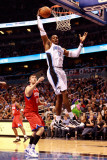 Philadelphia 76ers v Orlando Magic: Dwight Howard Photographic Print by Sam Greenwood