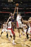 Los Angeles Lakers v Toronto Raptors: Pau Gasol and DeMar DeRozan Photographic Print by Ron Turenne