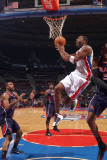 Atlanta Hawks v Detroit Pistons: Tracy McGrady Photographic Print by Allen Einstein