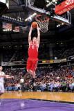 Houston Rockets v Sacramento Kings: Chase Budinger Fotografisk trykk av Rocky Widner