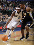 Utah Jazz v Dallas Mavericks: Jason Terry and Ronnie Price Photographic Print by Danny Bollinger