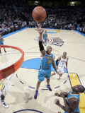 New Orleans Hornets v Oklahoma City Thunder: David West Photographic Print by Layne Murdoch