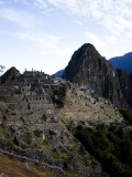 Machu Picchu, an Archaeological Site in Peru, from Above Photographic Print by Michael Hanson