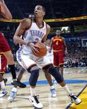 Cleveland Cavaliers  v Oklahoma City Thunder: Thabo Sefolosha Fotografisk tryk af Layne Murdoch