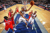 Philadelphia 76ers v New Jersey Nets: Joe Smith Photographic Print by David Dow