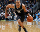 San Antonio Spurs v New Orleans Hornets: Tony Parker Fotografisk tryk af Layne Murdoch