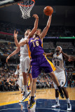 Los Angeles Lakers v Memphis Grizzlies: Pau Gasol and Marc Gasol Photographic Print by Joe Murphy