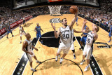 Orlando Magic v San Antonio Spurs: Manu Ginobili Photographic Print by D. Clarke Evans