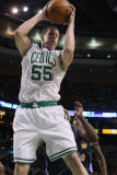 Denver Nuggets v Boston Celtics: Luke Harangody Photographic Print by  Elsa