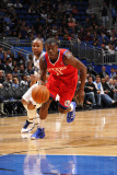 Philadelphia 76ers v Orlando Magic: Jrue Holiday Photographic Print by Fernando Medina