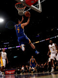Golden State Warriors v Los Angeles Lakers: Jeremy Lin Photographie par Stephen Dunn