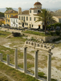 Ionic Columns at the Roman Agora in Athens Photographic Print by Richard Nowitz