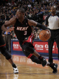 Miami Heat v Dallas Mavericks: Dwyane Wade Photographic Print by Glenn James