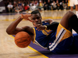 Golden State Warriors v Los Angeles Lakers: Jeff Adrien Photographic Print by Stephen Dunn