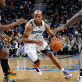 Utah Jazz v New Orleans Hornets: Jarrett Jack Photographic Print by Layne Murdoch
