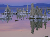 Tufa Towers Rise Out of Mono Lake in California at Sunset Photographic Print by Phil Schermeister