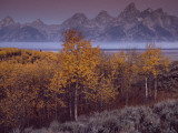 Teton Range Towers Above Jackson Hole, Wyoming Photographic Print by Raymond Gehman