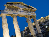 The Athena Archegetis West Gate of the Roman Agora at Twilight Photographic Print by Richard Nowitz