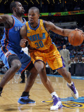 Oklahoma City Thunder v New Orleans Hornets: David West Photographic Print by Layne Murdoch