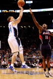 Atlanta Hawks v Orlando Magic: Jason Williams and Jamal Crawford Photographic Print by Sam Greenwood