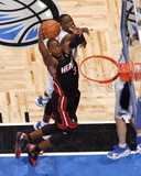 Miami Heat v Orlando Magic: Dwyane Wade Photographic Print by Fernando Medina