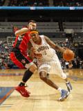 Toronto Raptors v Charlotte Bobcats: Tyrus Thomas Photographic Print by Kent Smith