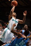 Tulsa 66ers v Sioux Falls Skyforce: Anthony Harris and Elijah Millsap Photographic Print by Dave Eggen