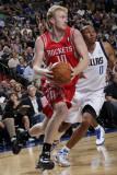 Houston Rockets v Dallas Mavericks: Chase Budinger and Shawn Marion Photographic Print by Glenn James