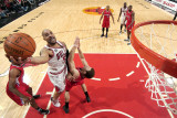 Los Angeles Clippers v Chicago Bulls: Carlos Boozer and Blake Griffin Photographic Print by Randy Belice