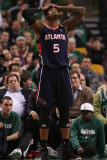 Atlanta Hawks v Boston Celtics: Josh Smith Photographic Print by Elsa .