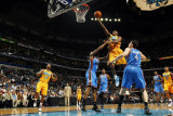 Oklahoma City Thunder v New Orleans Hornets: Quincy Pondexter Photographic Print by Layne Murdoch