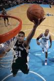San Antonio Spurs v New Orleans Hornets: Tim Duncan Photographic Print by Layne Murdoch