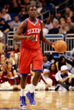 Philadelphia 76ers v Orlando Magic: Jrue Holiday Photographic Print by Sam Greenwood