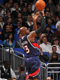 Atlanta Hawks v Orlando Magic: Damien Wilkins Photographic Print by Fernando Medina