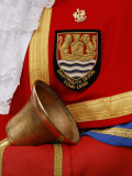 Close Up of the Official Bellringer of Dartmouth's Badge Photographic Print by Jim Richardson