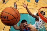 Tulsa 66ers v Sioux Falls Skyforce: Byron Mullens and Raymond Sykes Photographic Print by Dave Eggen